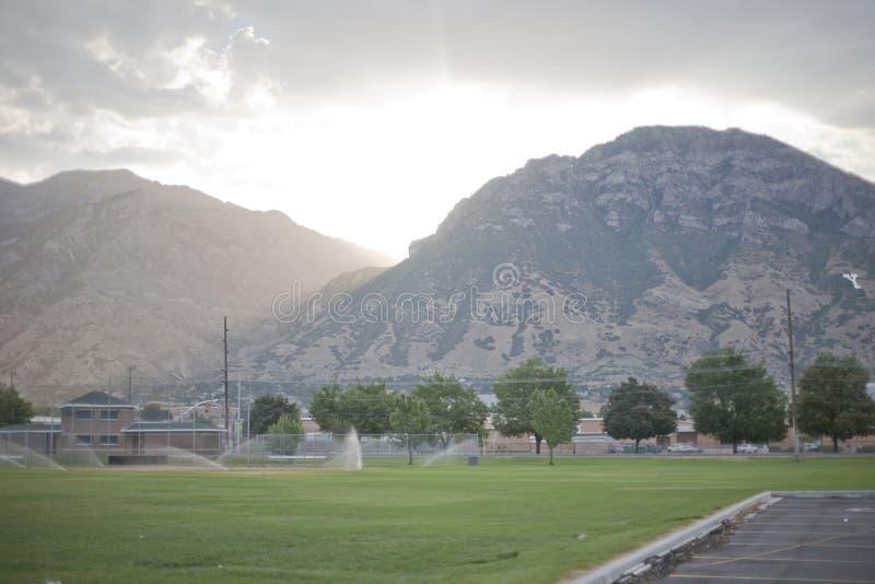 provo Etats-Unis Utah de montagnes photo stock
