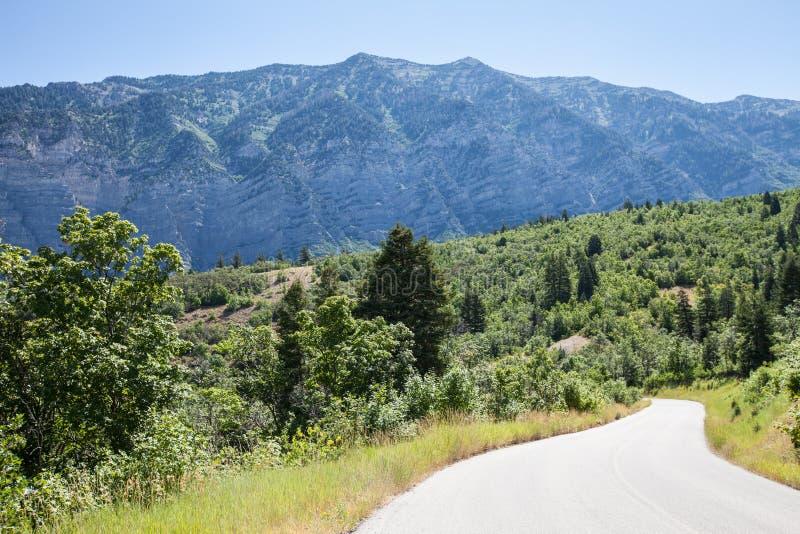 Provo jaru Utah góry zdjęcia stock