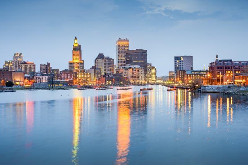 Provvidenza, Rhode Island, U fotografia stock libera da diritti