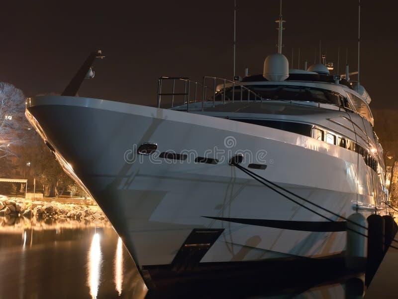 Yachtprow royaltyfri foto