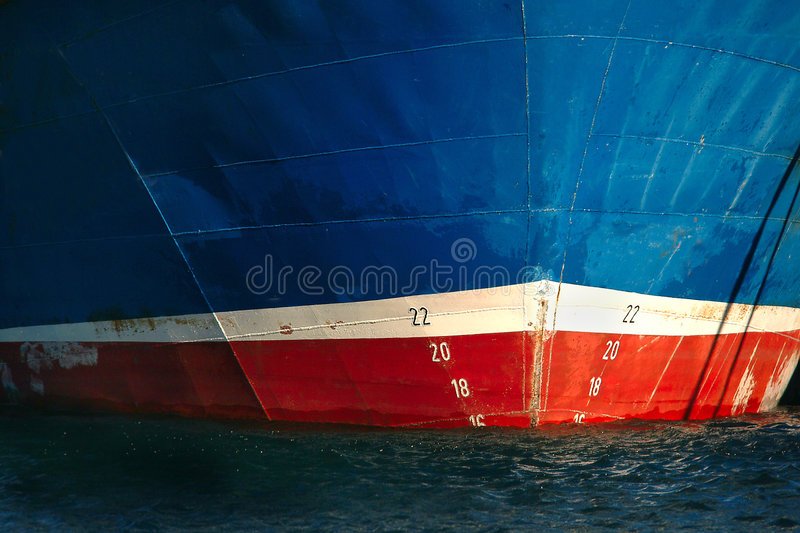 Prow Of Fishing Ship Royalty Free Stock Images