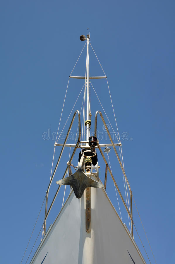 Prow Of A Sailing Boat Stock Photos