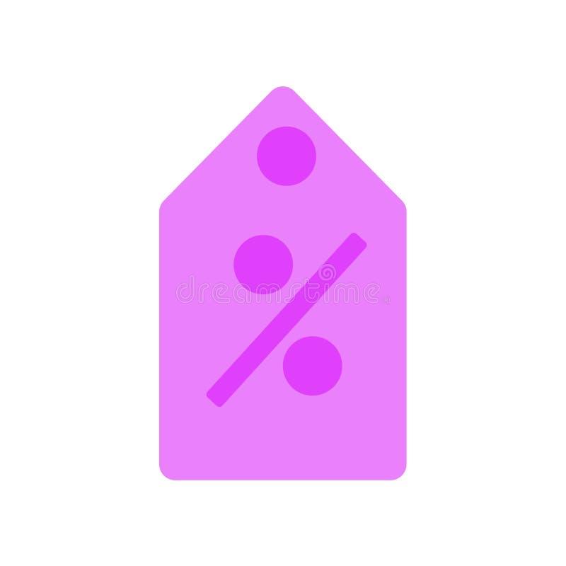 Prowizji ikony wektoru znak i symbol odizolowywający na białym tle, prowizja logo pojęcie royalty ilustracja