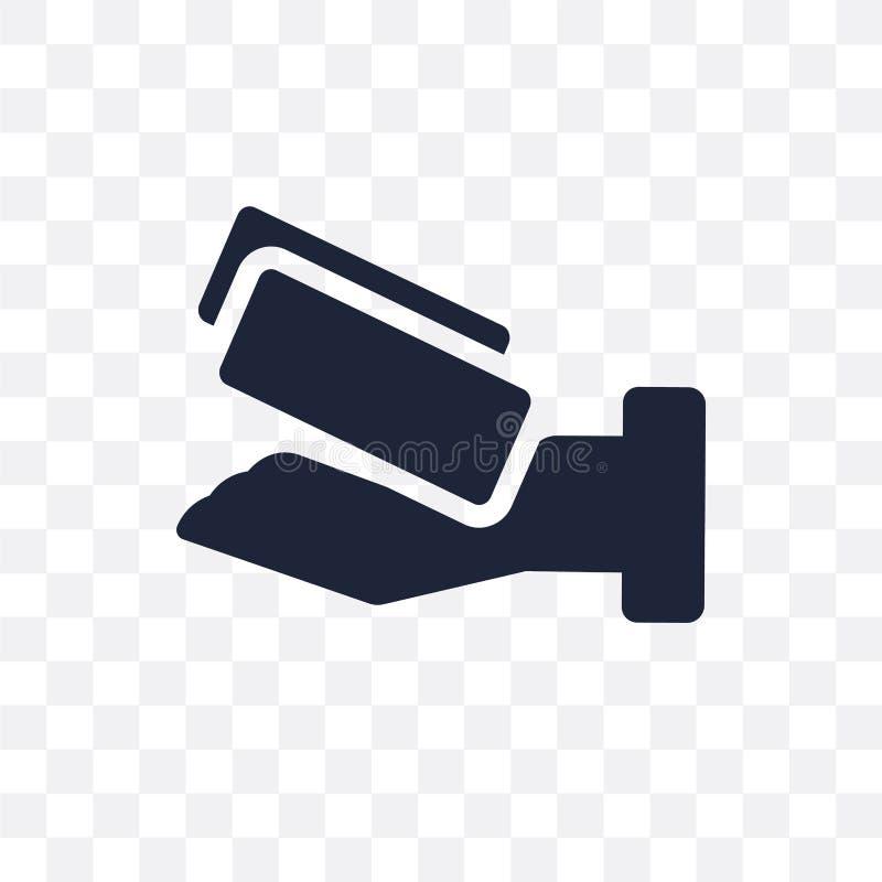 Prowizji przejrzysta ikona Prowizja symbolu projekt od początku royalty ilustracja