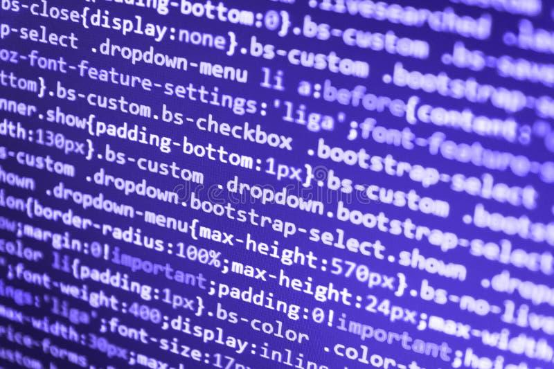 Proyecto abierto de la fuente del Freeware fotografía de archivo