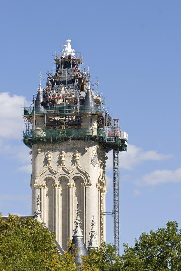Proyecto arquitectónico de la restauración del tejado