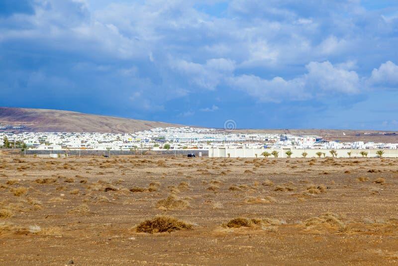 Proyecto de la urbanización en el Blanca de Playa imagen de archivo