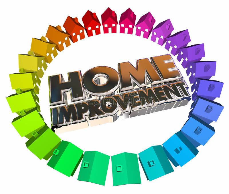 Proyecto Job Task Houses de las mejoras para el hogar libre illustration