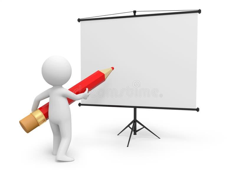 Proyector stock de ilustración