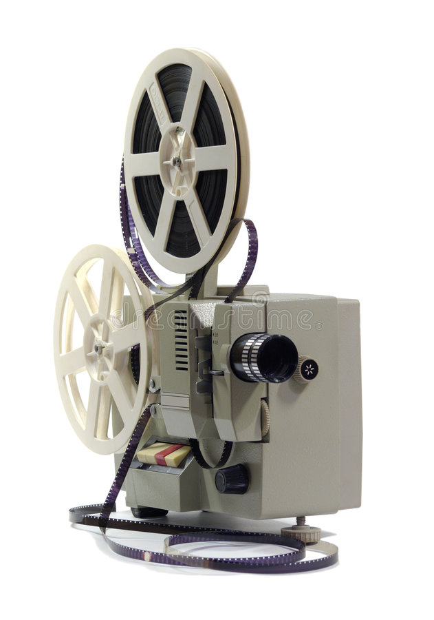 Download Proyector de película imagen de archivo. Imagen de casa - 7284719