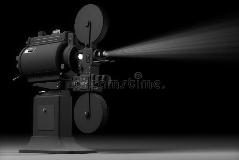 Proyector de película industrial libre illustration