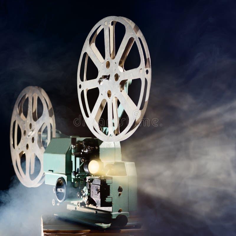 Proyector de película retro fotos de archivo