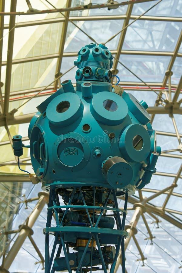 Proyector del planetario de Zeiss fotografía de archivo