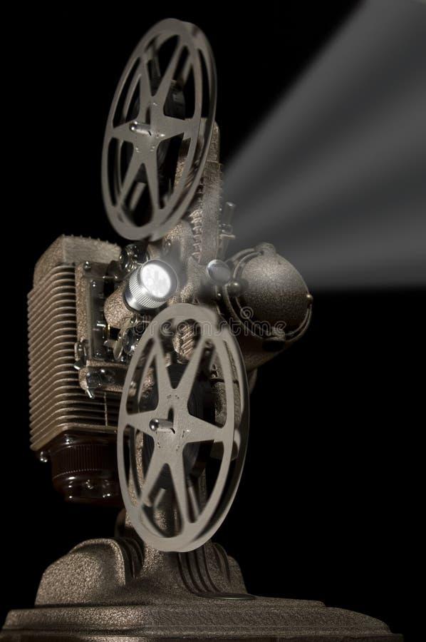 Proyector retro ilustración del vector