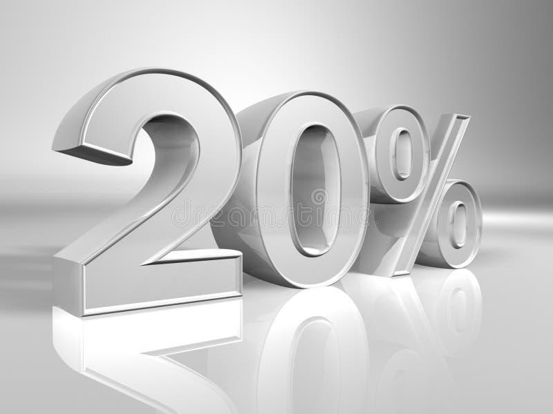 Prozentsatz lizenzfreie abbildung