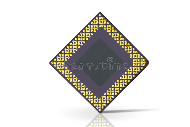 Prozessor lizenzfreie stockfotos