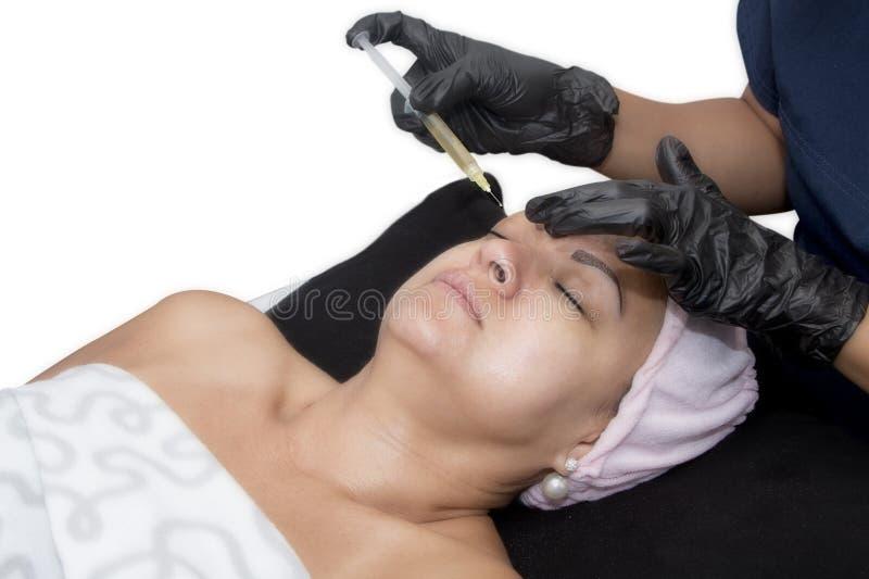 PRP - Piastrina Rich Plasma Therapy immagini stock libere da diritti