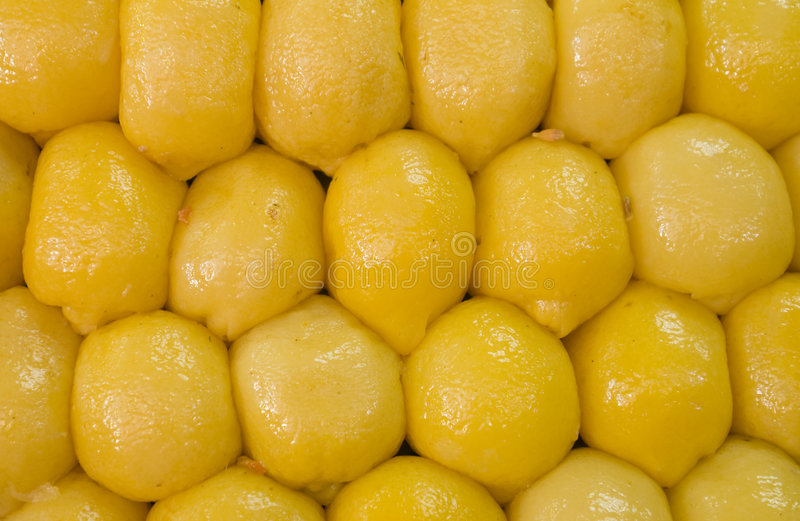 Prserved Lemons Royalty Free Stock Photos