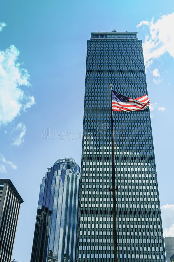 Prudential tower royalty free stock photo