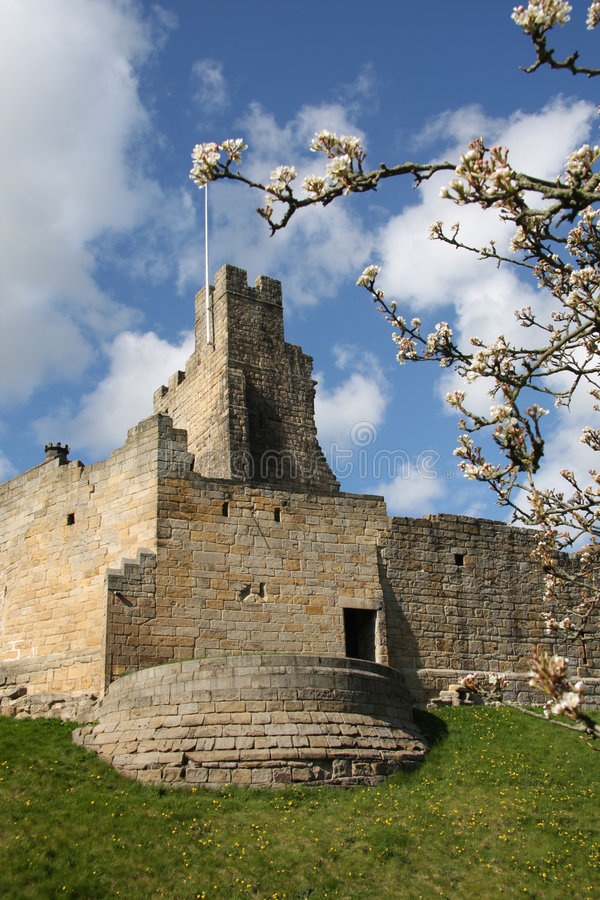 Prudhoe Castle royalty free stock image