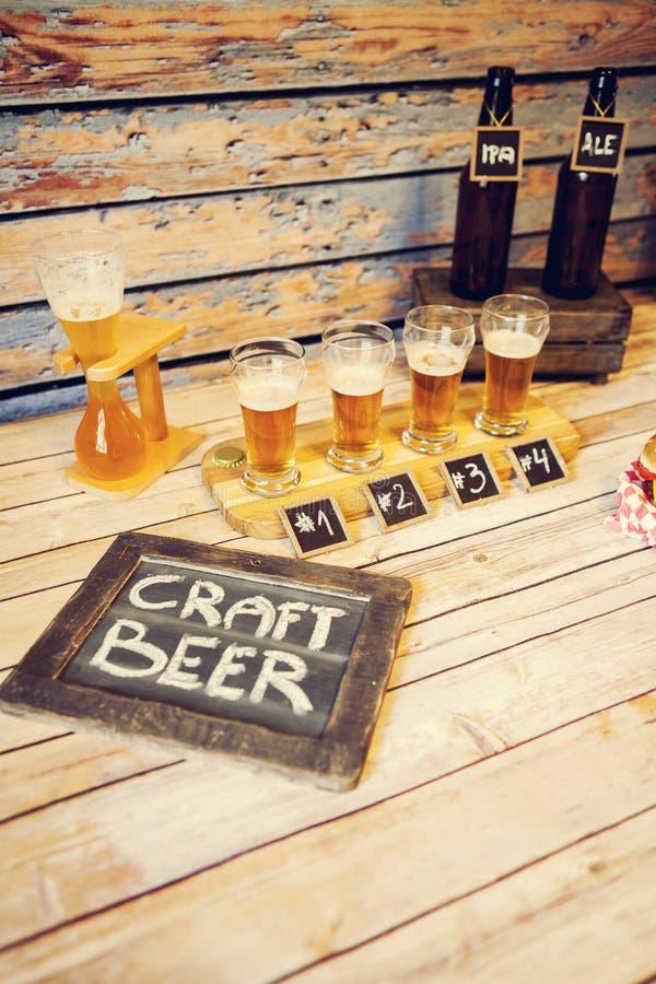 Prueba de la cerveza foto de archivo