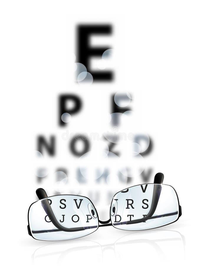 Prueba del ojo libre illustration