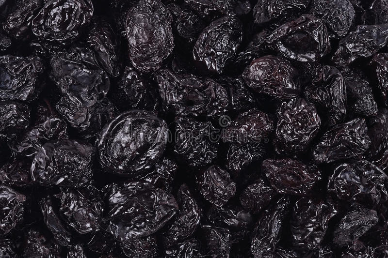 Prunes background royalty free stock image
