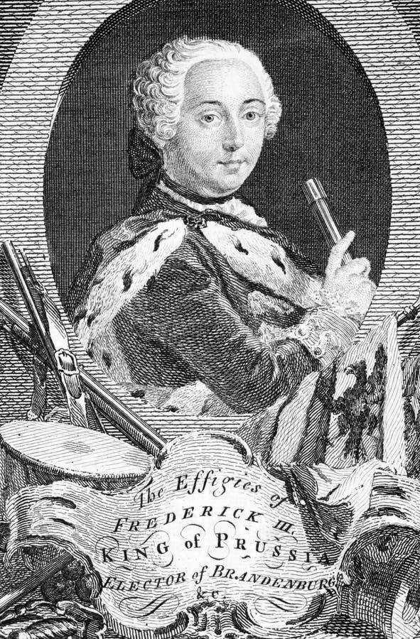 prussia короля frederick i стоковая фотография rf