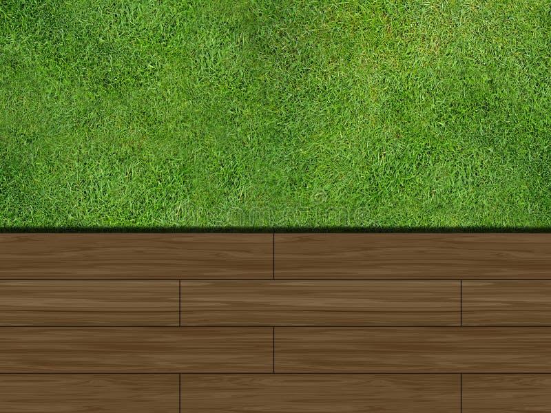 pryda som är trä vektor illustrationer