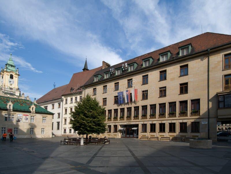 Prymasu kwadrat w Bratislava fotografia royalty free