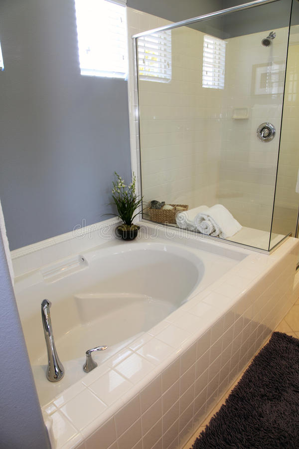 prysznic nowożytna balia fotografia royalty free