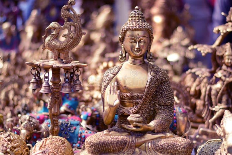 Prysznic władyki Buddha błogosławieństwa zdjęcie royalty free