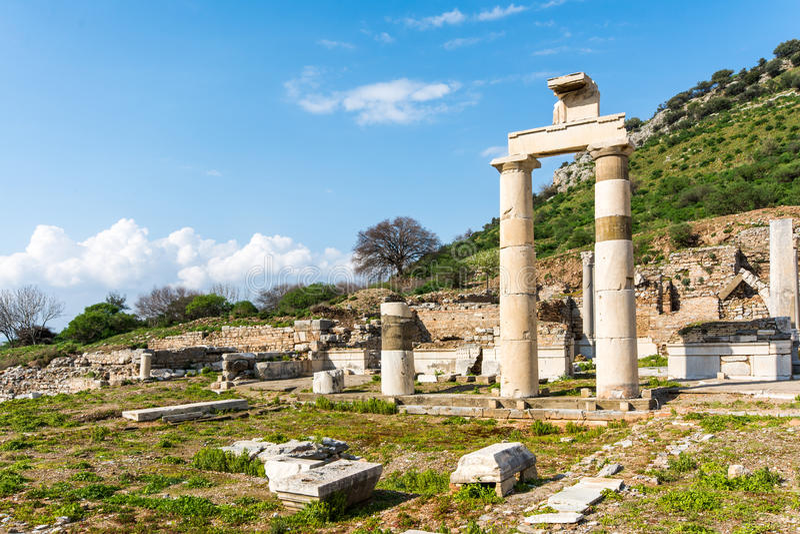 Prytaneion, Ephesus photographie stock