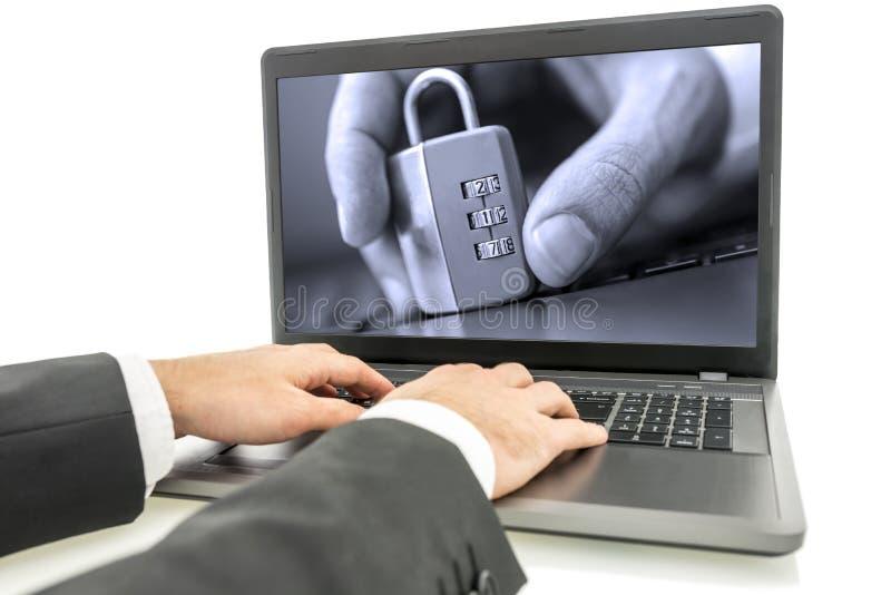 Prywatność dane obrazy royalty free