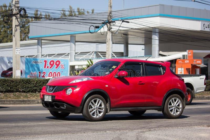 Prywatny samochód, Nissan Juke obrazy royalty free