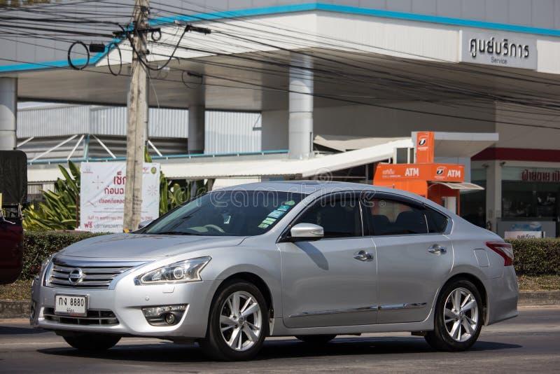 Prywatny samochód, Nissan Teana obraz stock