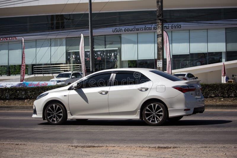 Prywatny samochód, Toyota Corolla Altis Jedenasty pokolenie fotografia stock