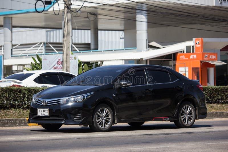 Prywatny samochód, Toyota Corolla Altis Jedenasty pokolenie zdjęcia royalty free