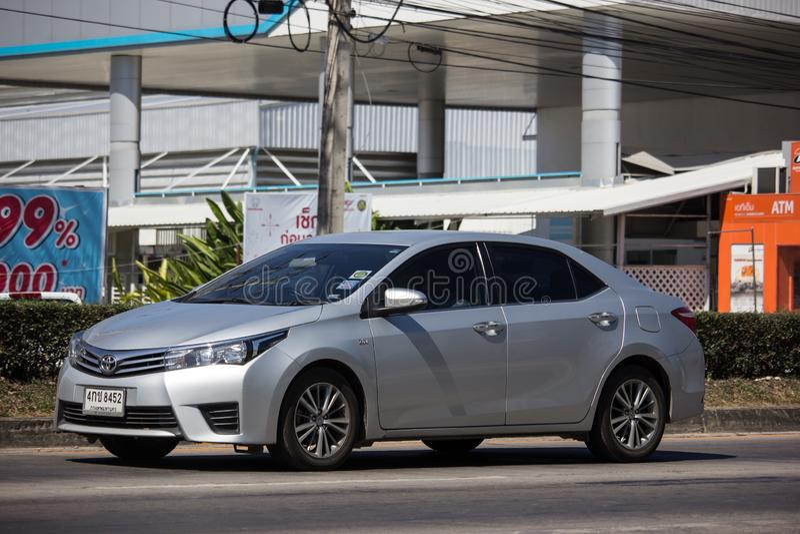 Prywatny samochód, Toyota Corolla Altis Jedenasty pokolenie obrazy royalty free