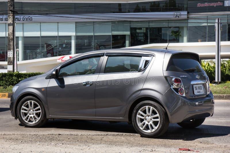 Prywatny samochód, Chevrolet akustyczny obrazy royalty free