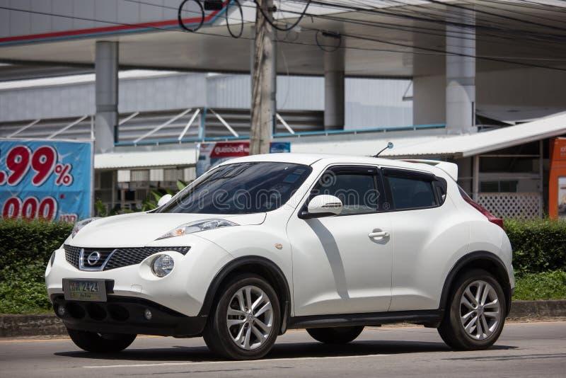 Prywatny samochód, Nissan Juke zdjęcia royalty free