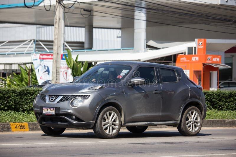 Prywatny samochód, Nissan Juke fotografia stock