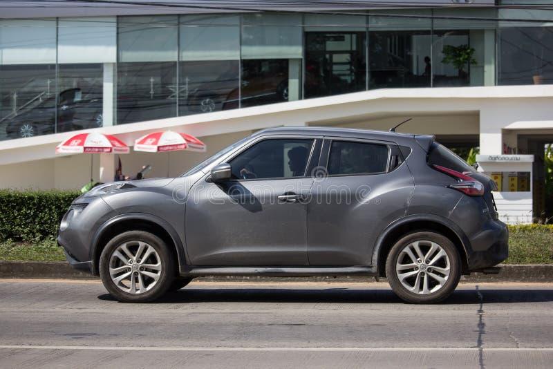 Prywatny samochód, Nissan Juke zdjęcia stock