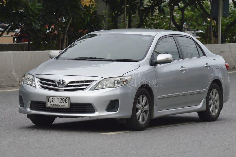 Prywatny samochód Toyota Corolla Altis 2009 zdjęcia royalty free