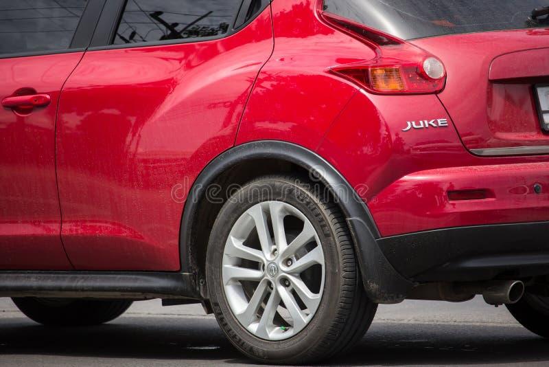Prywatny samoch?d, Nissan Juke zdjęcie stock