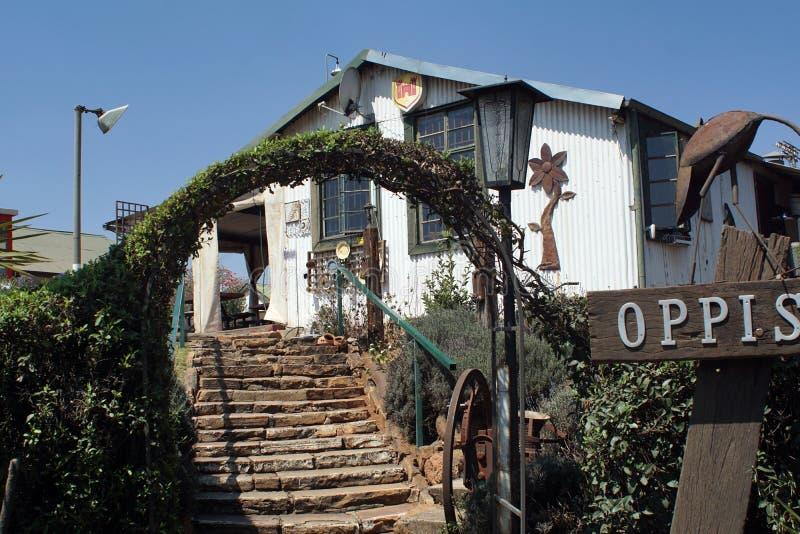 Przód dworzec w Cullinan, Południowa Afryka obrazy royalty free