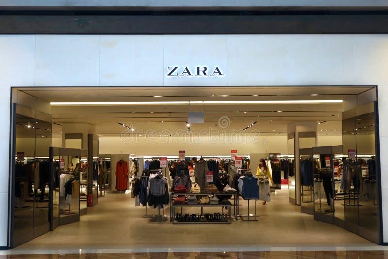Przód Zara sklep zdjęcie stock