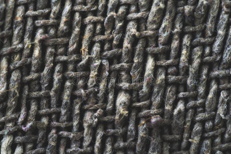 Przędzy tkanina Wyszczególnia tekstury tło obrazy royalty free