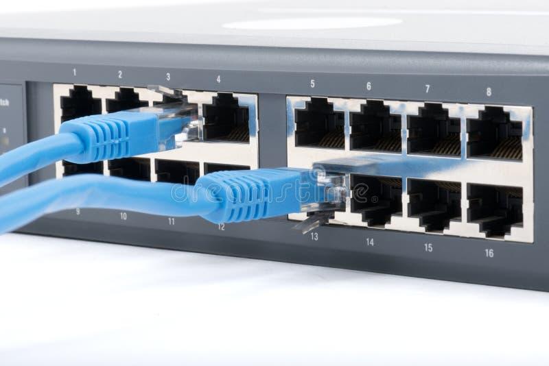 Przełącznikowy sieci centrum obrazy stock