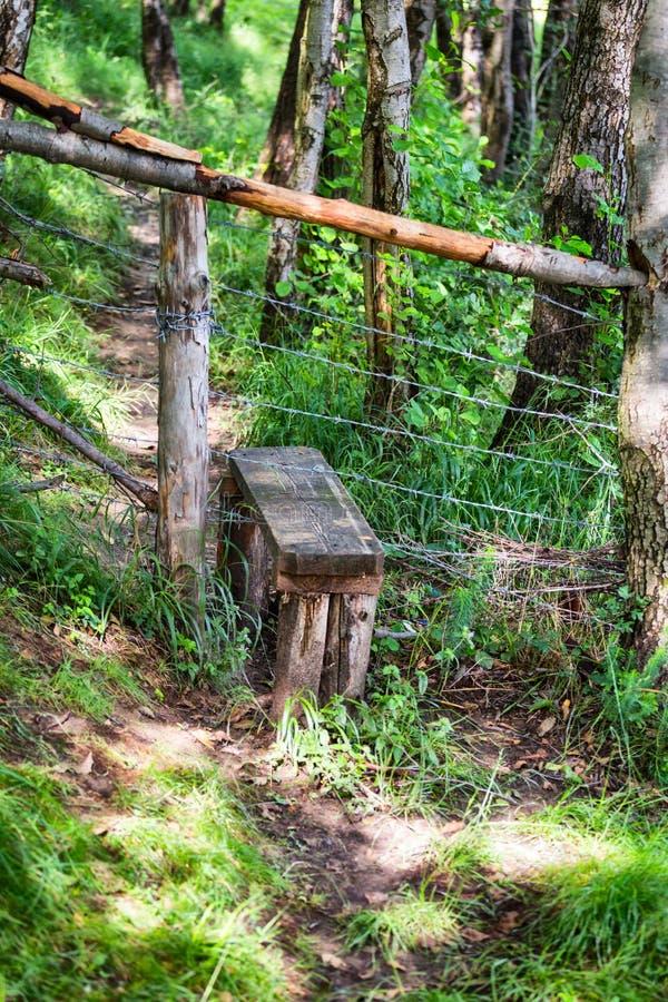 Przełaz w Rumunia wsi ogródach zdjęcie royalty free